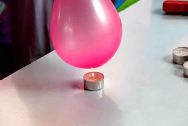 Patlamayan balon deneyi-yanmaz balon deneyi- m