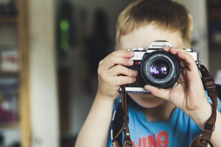çocuk fotoğraf çekme-hobi